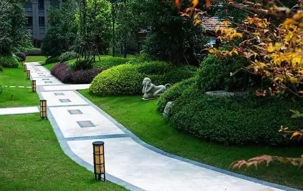 园林消防扑救面处理方式与设计中的经典元素——树篱