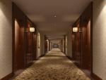宾馆走道3D模型下载