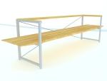 休息座椅3D模型下载