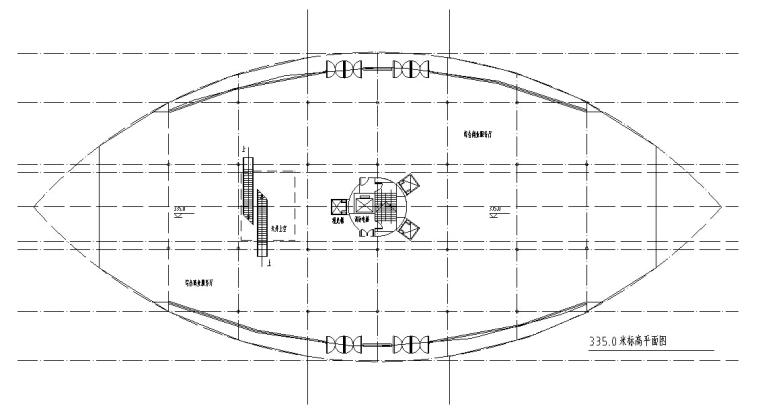 火箭型观光塔建筑设计方案初设图CAD-7