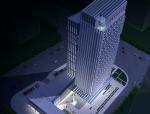 某广告总部基地办公楼建筑设计方案文本SU模型