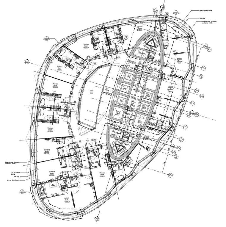 首都门厅――世界上倾斜度最大的塔楼_24