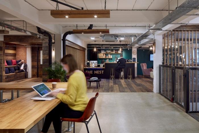 伦敦NEST联合创意办公室