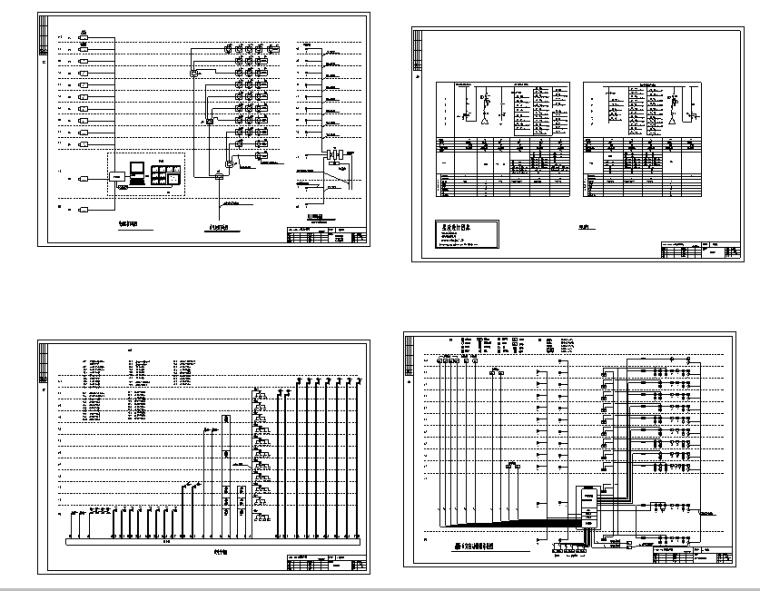 某大学图书馆电气设计图纸全套_5