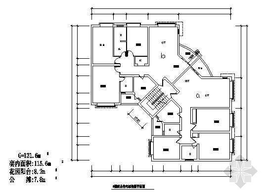 四室两厅一厨两卫131平米