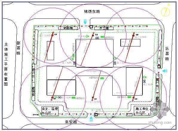 上海某大型公建工程施工组织设计(白玉兰奖)