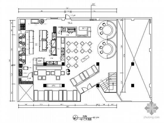 [南京]茶餐厅施工图设计