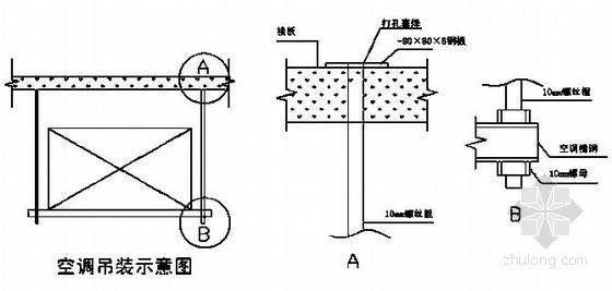 电厂化学综合楼通风空调施工方案