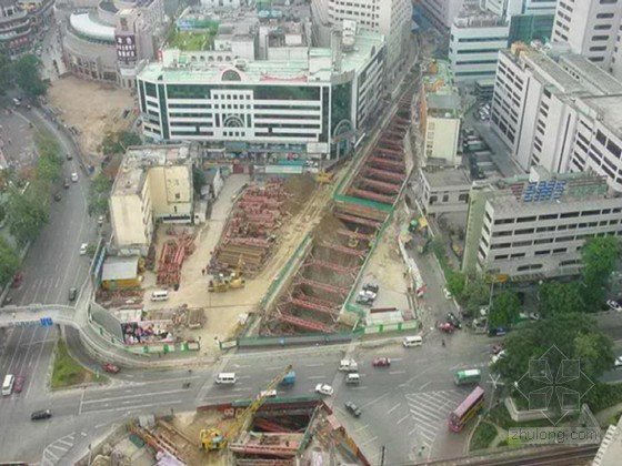 隧道下穿桩基托换施工方案(盾构 托换梁 支护)