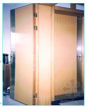 某工程门窗制作、安装施工工艺(木门、金属及塑料门窗、防火门)
