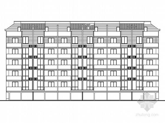 某五层单身公寓建筑扩初图