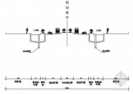 道路工程竣工设计图