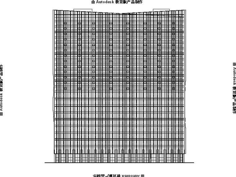 [安徽]超高层金属外墙多业态城市综合体建筑施工图(含效果图)