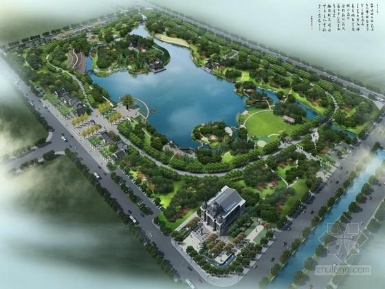 """[安徽]""""静""""主题滨河公园景观规划设计方案"""