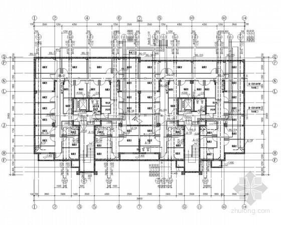 二类高层住宅建筑给排水图纸