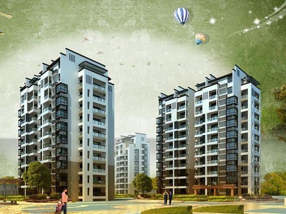 [浙江]6层框架结构住宅楼建筑工程预算书(含工程量计算施工图纸)