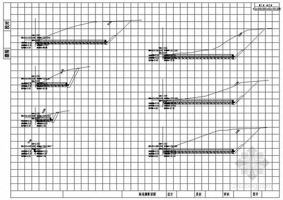 农村公路车道工程cad设计图纸