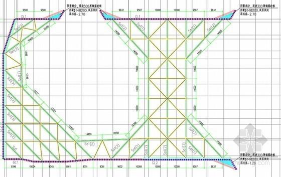 深基坑排桩加内支撑开挖支护施工方案(专家论证 搅拌桩重力挡墙)