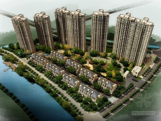 [浙江]简欧风格高层住宅区规划设计方案文本(两种方案)