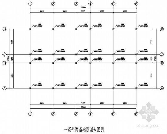 [贵州]钢结构工程(办公室)方案设计图