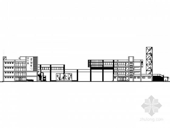 [课程设计]大学生活动中心建筑方案图