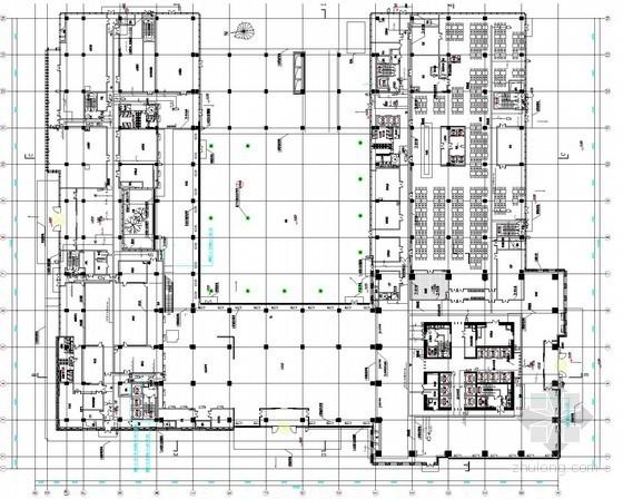[天津]研发基地弱电智能化施工图124张(系统全面 公司 研究院 办公楼)