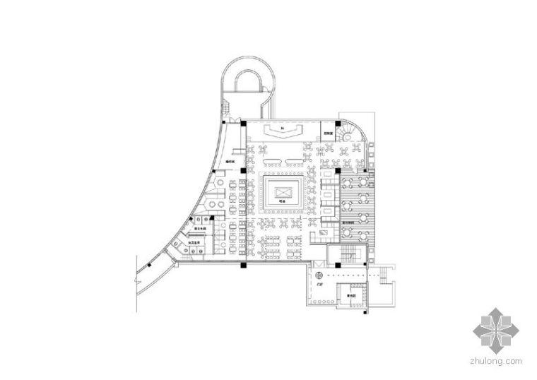 金狮大厦蝙蝠酒吧设计图赏析
