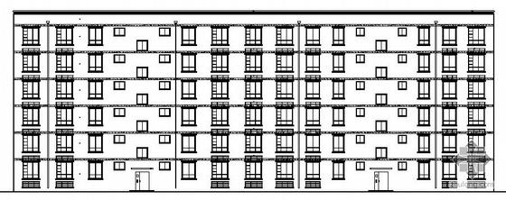 [咸阳市]某六层住宅楼建筑施工图