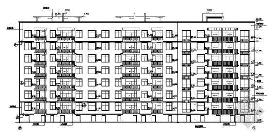 小区某八层住宅建筑施工图-2