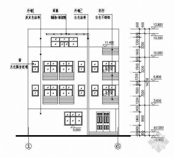 某私人别墅建筑结构全套图纸+效果图