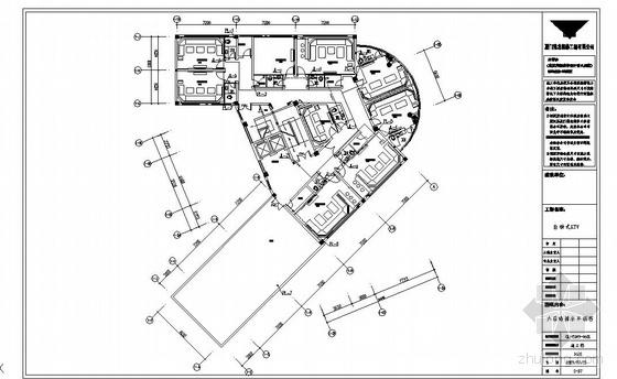 厦门某六层KTV给排水施工图