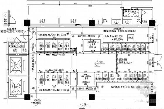 [浙江]党校改扩建供配电工程施工图32张