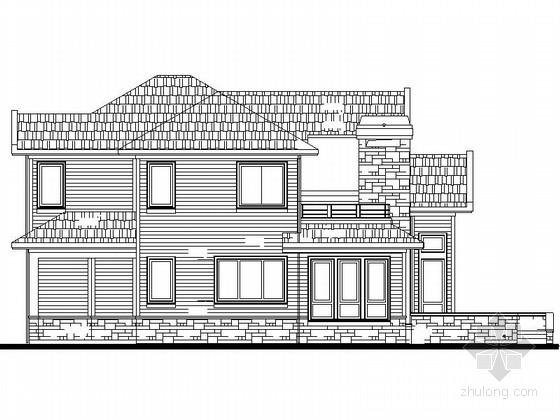某两层独栋别墅建筑方案设计