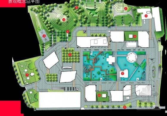 居住区景观概念设计方案