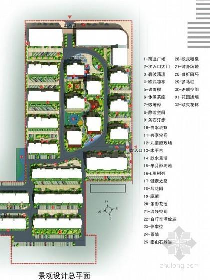 [濮阳]新古典主义花园小区景观设计方案