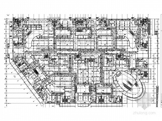 [安徽]多层商场空调通风及防排烟系统设计施工图