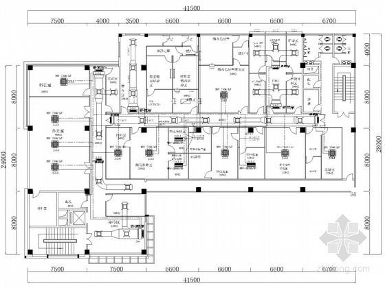 某实验室变频空调工程设计施工图纸