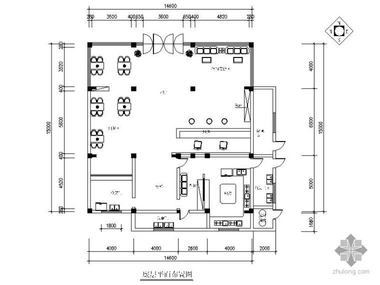 某酒店室内装饰工程施工图(含效果)_1