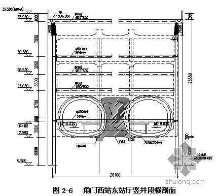 北京某地铁车站基坑开挖及钢管支撑施工方案