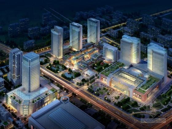 [江苏]城市核心地块商业圈规划设计方案文本(含步行街、酒店、商务写字楼等)