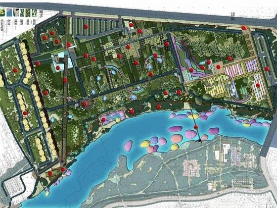 [河北]特色生态植物园景观设计方案(北京著名景观公司)