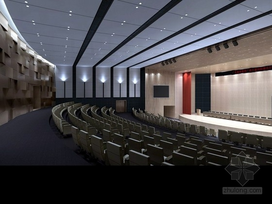 [成都]某高档公馆室内设计概念图