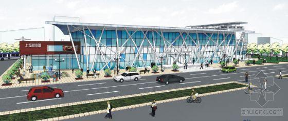 Isuzu汽车博物馆景观资料下载-长途汽车站景观设计