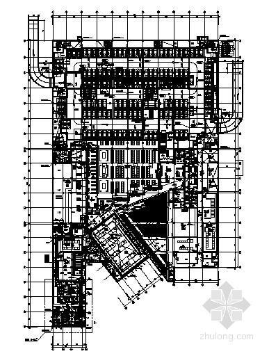 大型数据中心空调防排烟设计施工图