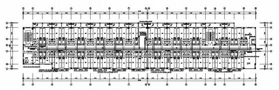温州某体育学校六层宿舍楼弱电施工图