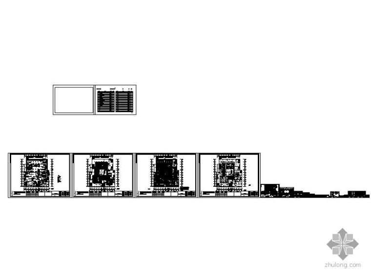 [辽宁]某大型百货商场第四层室内装修图_4