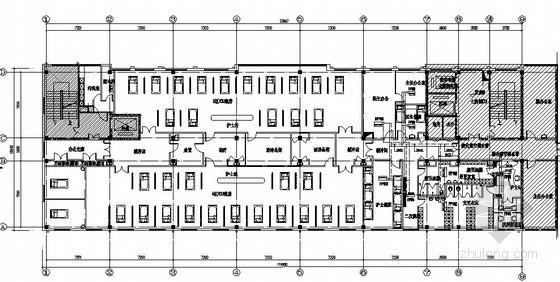 ICU净化系统资料下载-[北京]某医院净化空调图纸