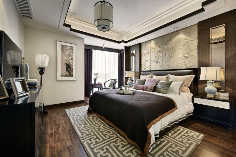 融林星海湾新中式样板房室内实景图 (7)