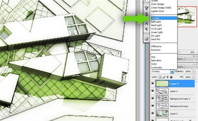 干货 SketchUp+photoshop快速渲染制作建筑景观效果图教程_16