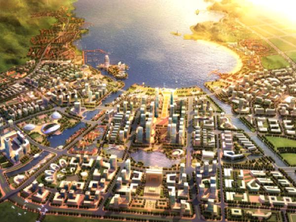 大连小窑湾景观桥梁工程方案汇报(PPT)